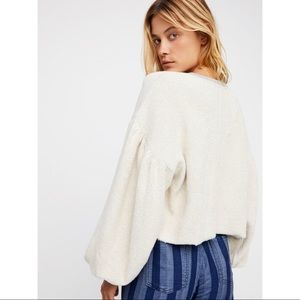 Free People Tops - Free People - Sleeves Like These Pullover Top